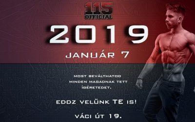 115Official / 2019 Január 7 / SZEZONKEZDÉS / Csatlakozási lehetőség