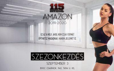 115 Amazon / Szezonkezdés/ Csatlakozási lehetőség