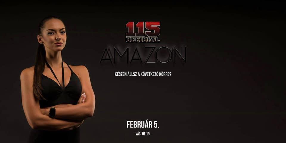 115 AMAZON / Februári csatlakozási lehetőség 2019